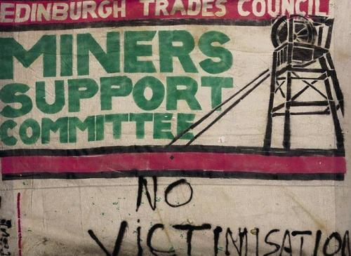 Edinburgh Miners Support 1984